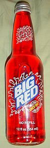 Big Red was created in 1937 by Grover C. Thomsen and R.H. Roark in Waco, Texas and was originally known as Sun Tang Red Cream Soda.
