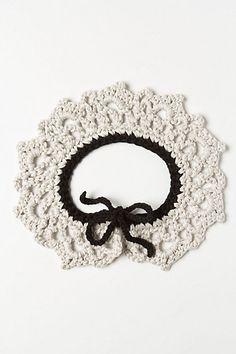 Sabine Crochet Collarette - Anthropologie.com