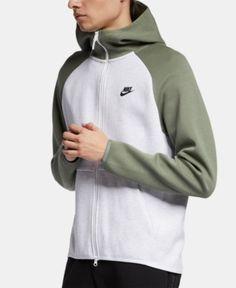 10577c7f7430 Nike Men s Sportswear Tech Fleece Zip Hoodie - Gray 2XL Zip Hoodie