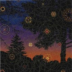 Ripples-Trees By Fred Tomaselli ,1994