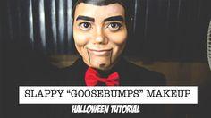 Slappy Goosebumps Halloween Makeup Tutorial