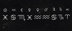 Tattoo linha mapa astral