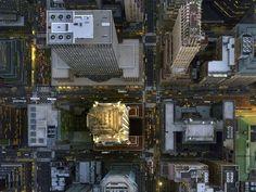 Aerial Chrysler Building - Jeffrey Milstein/REX