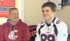 Teenager gets fired after wearing Broncos jersey to work