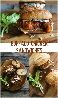 Buffalo Chicken Sandwich Bleu Cheese Coleslaw Toasted Bun