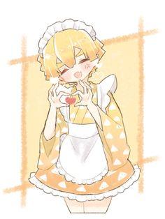 Anime Angel, Anime Demon, Maid Outfit Anime, Anime Maid, Slayer Meme, Demon Slayer, Fanarts Anime, Anime Characters, Otaku Anime