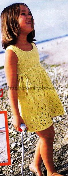 Летнее платье для девочки. Обсуждение на LiveInternet - Российский Сервис…