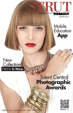 Pick up STRUT at your local salon! Beauty tips + more!