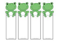 Segnalibri Ranocchio Frogs bookmarks