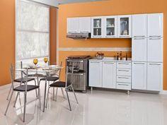 Cozinha Compacta Itatiaia Criativa - 11 Portas Aço com as melhores condições você encontra no Magazine Tonyroma. Confira!