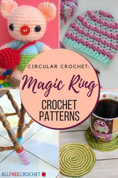 Love the magic ring/magic circle? Then you are going to adore these free crochet patterns!