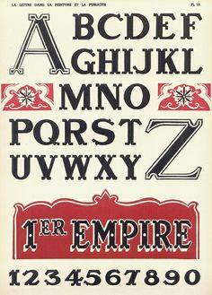 From http://bibigreycat.blogspot.com/ (Jan. 23 2011 post) - Really cool images of all different lettering - in French