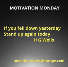 Falling Down, Monday Motivation, Stand Up, Life Hacks, Blue, Get Up, Get Back Up, Fall Away