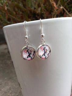 Silver Nautical Dangle Earrings Drop Earrings Anchor Fashion Jewelry