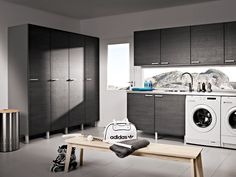 Loiste - fino antrasit. Mudroom, Washing Machine, Faucet, Laundry, Bathtub, New Homes, Home Appliances, Oras, Kitchen