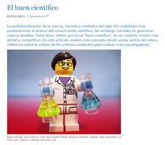 El buen científico / Guillermo Orts-Gil + Investigación y Ciencia | #readytoresearch