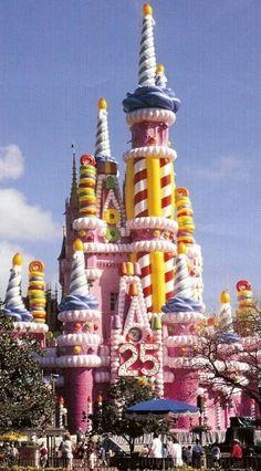 Walt Disney World- I remember the cake castle!