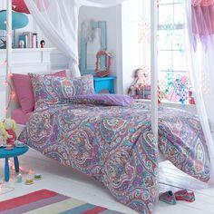 Butterfly Home by Matthew Williamson Designer purple 'Paisley' bedding set- at Debenhams.com