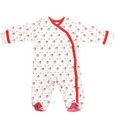 Babysoy Organic Cotton Pattern Footie Baby  Penquin03 Months *** Visit the image link more details.