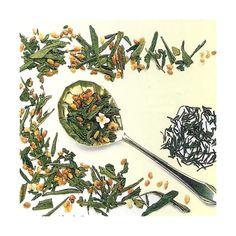 GREEN TEA STRAWBERRY BLUEBERRY SENCHA 100 grams $8 tax incl. www.melba-diffusion.com