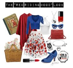 "The ""Red Riding Hood"" Look by clau-de-paepe on Polyvore featuring mode, Sandwich, Rumour London, Annalee, STELLA McCARTNEY, Casetify, MAC Cosmetics, Chanel and fairytale"