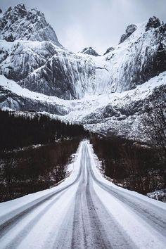 """maureen2musings: """"  Roads through the Lofoten   coldxneil """""""