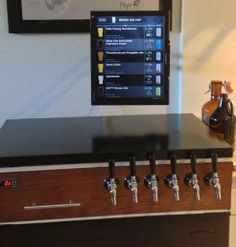 Home brewer makes a digital tap list using Raspberry Pi
