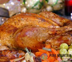 Juicy Citrus Turkey | Pure Mountain Olive Oil and Vinegars | www.PureMountainOliveOil.com |  With the right amount of planning, this recipe will come together beautifully. With a delicious marinade made from lime juice, orange juice, and delicious herbs. This turkey comes out super moist because it's made with Pure Mountain's Oregano Olive Oil. | #extravirginoliveoil #turkey #turkeyrecipe #marinade #puremountain #citrus #citrusturkey