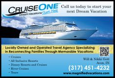 Magnified Vacations CruiseOne - Call us today to start your next Dream Vacation