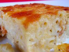 Trinidad Macaroni Pie i little more salt and cheese Trinidadian Recipes, Guyanese Recipes, Jamaican Recipes, Jamaican Cuisine, Jamaican Dishes, Cheese Recipes, Pie Recipes, Cooking Recipes, Cooking Food