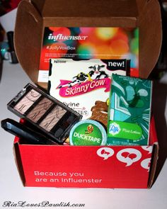 2013 Jolly Vox Box from Influenster! #providedforreview