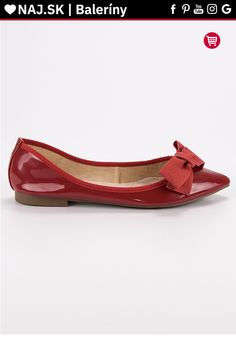Lakované červené baleríny s mašľou Corina Tommy Hilfiger, Platform, Adidas, Flats, Shoes, Fashion, Colors, Flat Shoes Outfit, Shoes Outlet