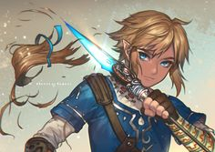 "The Legend of Zelda Wii U, Link / ""forget the past and move on"" - kawacy on Tumblr"