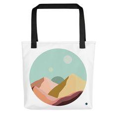Strong, unique Tote bag -Circle Collection- No. 7