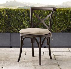 Madeleine Metal Chair Cushions