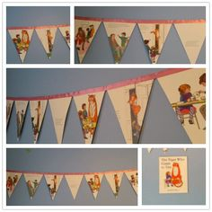 Items similar to The Tiger Who Came For Tea Book Bunting for Nursery or Party on Etsy Third Birthday, 2nd Birthday Parties, Birthday Ideas, Storybook Party, Baby Shower Tea, Bunting, First Birthdays, Tea Party, Summer Fair