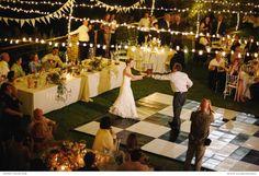 Las guirnaldas de luces están de moda WEDDINGS