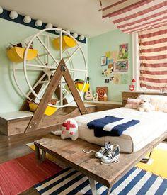 Ideias criativas para decorar o quarto das crianças...