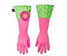 Sada 2 rukavic na úklid Flower Power