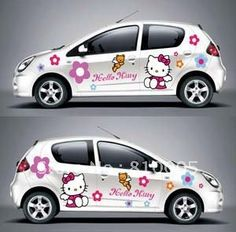 Doesnt Matter Whether You Have A BMW TOYOTA Or BENTLEY You Are - Hello kitty car decal stickers