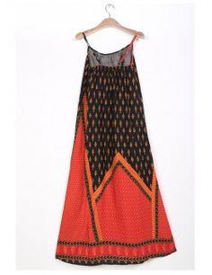 Vestito leggero in stile bohémien