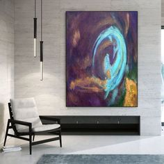 Abstract Canvas Wall Art-Farmhouse Decor Original Abstract image 6 Abstract Canvas Wall Art, Large Canvas Wall Art, Extra Large Wall Art, Colorful Artwork, Colorful Paintings, Texture Art, Contemporary Art, Art Images, Bespoke
