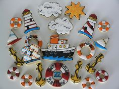 Great nautical cookies