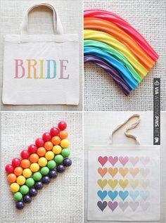 rainbow love. | CHECK OUT MORE IDEAS AT WEDDINGPINS.NET | #weddings #weddinggear #weddingshopping #shopping