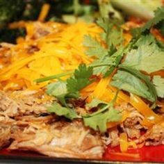 Mexican Style Shredded Pork- This is amazing pork! We love it in tacos and enchiladas. Slow Cooker Recipes, Crockpot Recipes, Cooking Recipes, Healthy Recipes, Carnitas, Great Recipes, Dinner Recipes, Favorite Recipes, Tamales