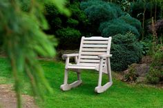 Anchor Fast Padstow Single Seat Rocker - Simply Wood