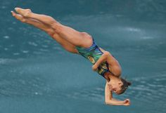 Tania Cagnotto of Italy competes in the Women's Diving 3m Springboard Final on Day 9 of the Rio 2016 Olympic Games at Maria Lenk Aquatics Centre on August 14, 2016 in Rio de Janeiro, Brazil.
