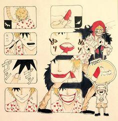 Trafalgar D Water Law Corazon Cora-san Donqixote Rosinante One Piece One Piece Comic, One Piece 1, One Piece Luffy, One Piece Manga, One Peace, Trafalgar Law, Father And Son, Favorite Person, Manga Art