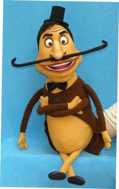 Cockroach,  foam puppet doll ---- oooh, I want one!