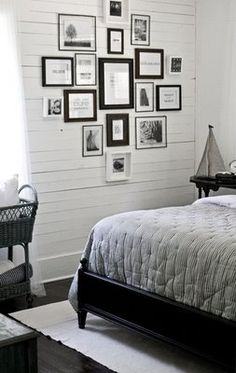 I love the monochromatic scheme - I like color too, but this is neutrals done really nicely.